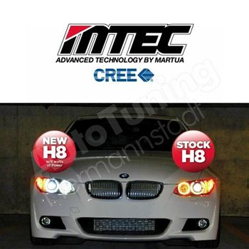 H8 LED White Angel Eye BMW MTEC Japonia by MARUTA